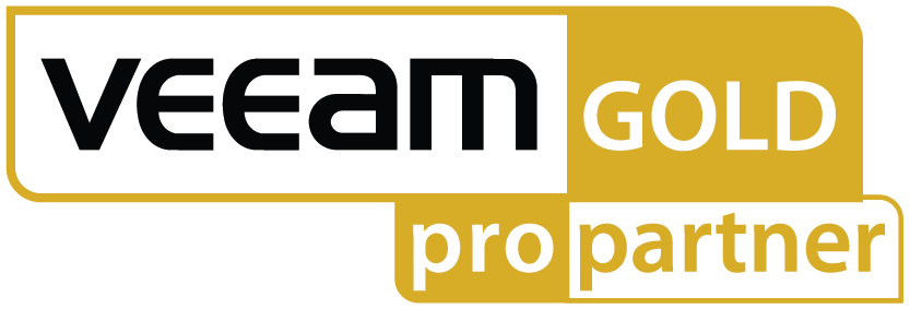 Logo Veeam gold pro partner